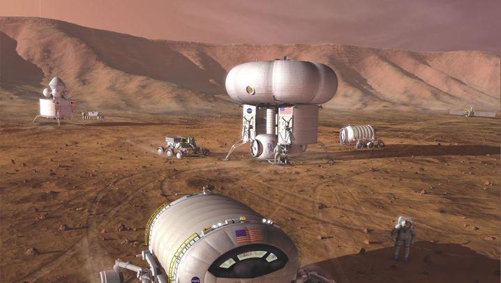 Raumfahrt: Überleben auf dem Mars