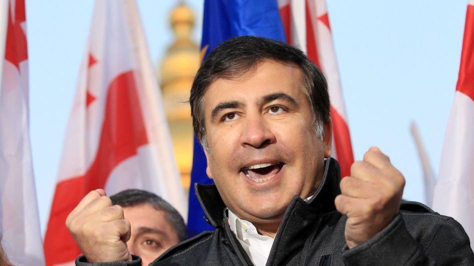 Ex-Präsident Saakaschwili ist jetzt Gouverneur in der Ukraine