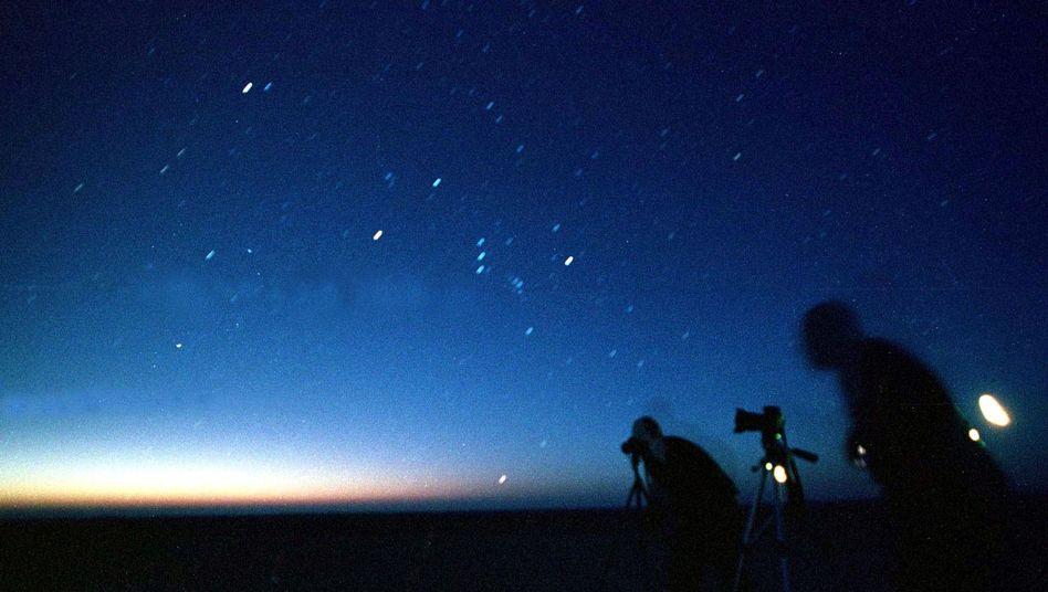 Himmel im Blick: Gute Sicht auf Sternschnuppen vorhergesagt
