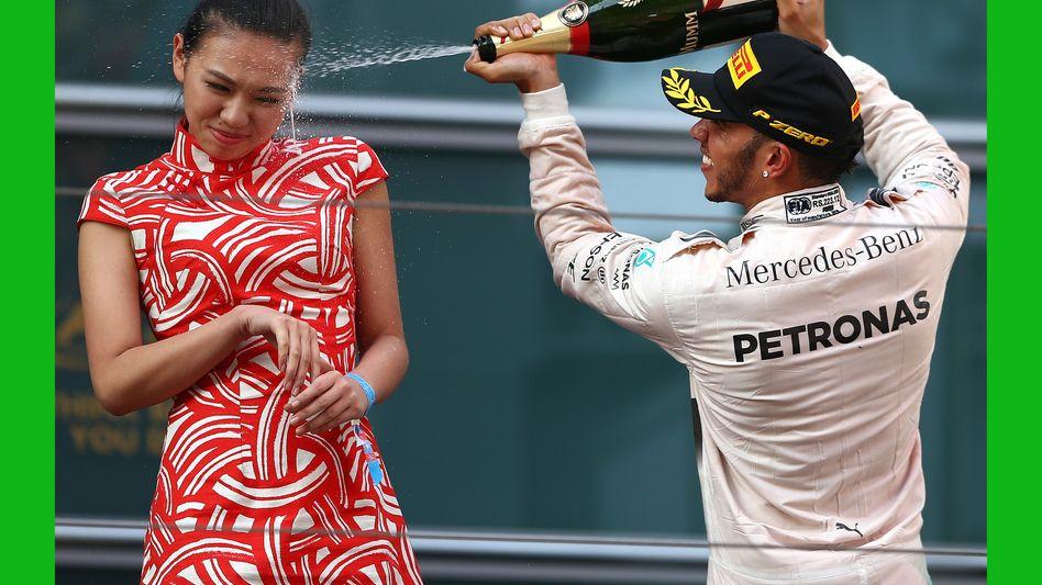 """Lewis Hamilton in China: """"Was für ein vergoldetes Arschloch"""""""