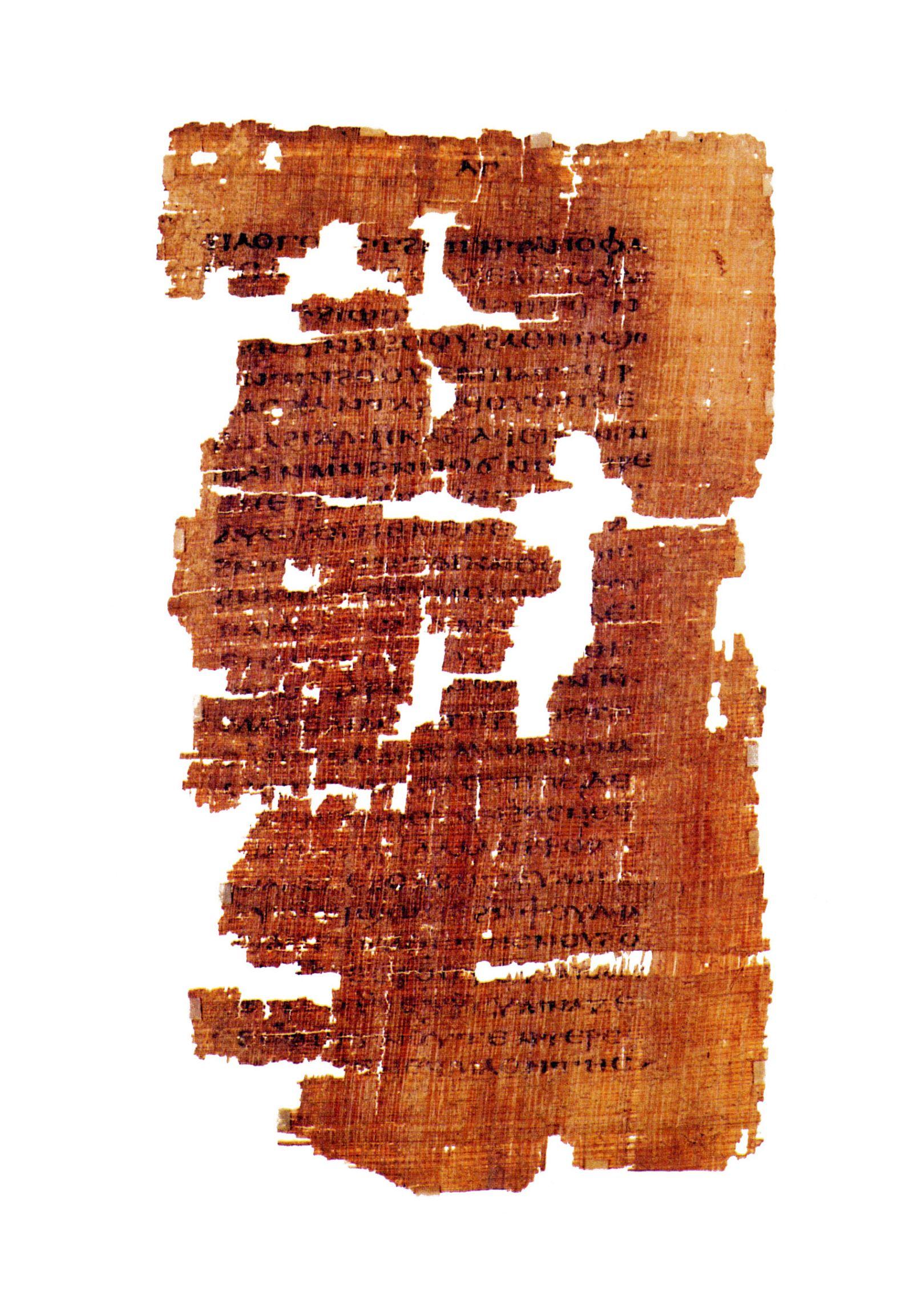 EINMALIGE VERWENDUNG Evangelium des Judas
