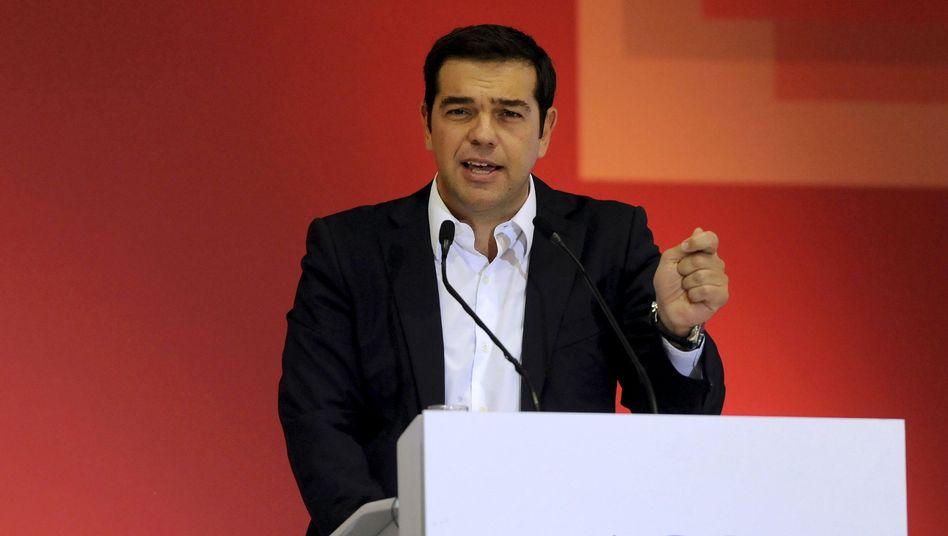 Ex-Ministerpräsident Tsipras: Ziel bleibt eine Schuldenerleichterung