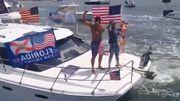 Boote für Trump – und eine Warnung von Biden