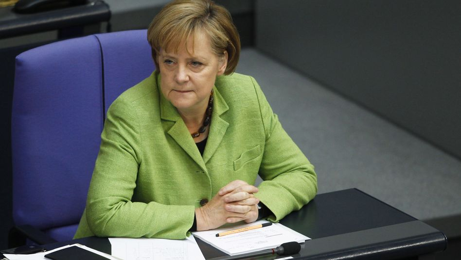 These are hard times for Angela Merkel.