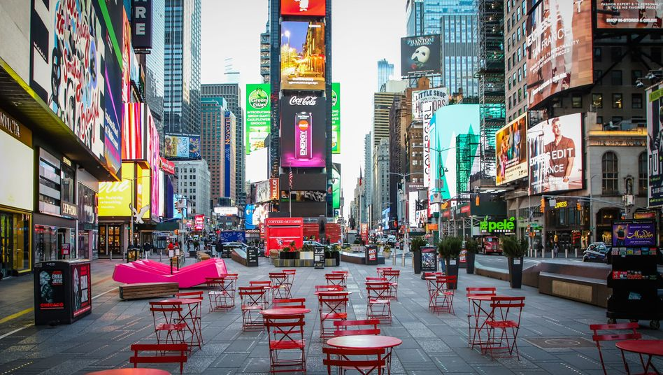 Corona-Krise macht New York City zur Geisterstadt - DER SPIEGEL