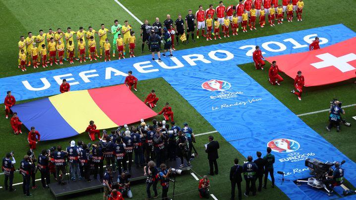 Rumänien vs. Schweiz: Schweizer Neutralität