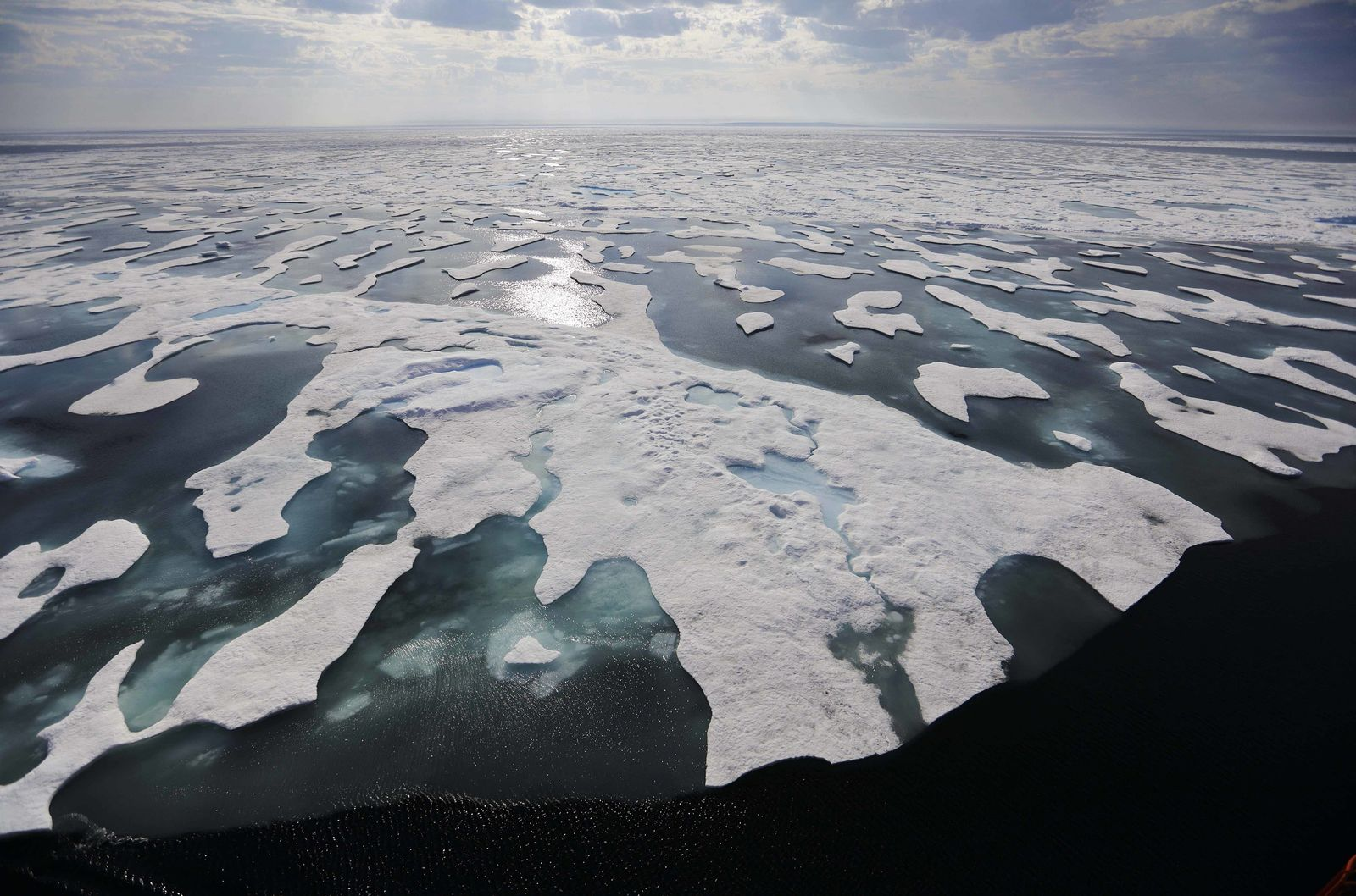 Klimarekorde 2016 / Klimaerwärmung Arktis