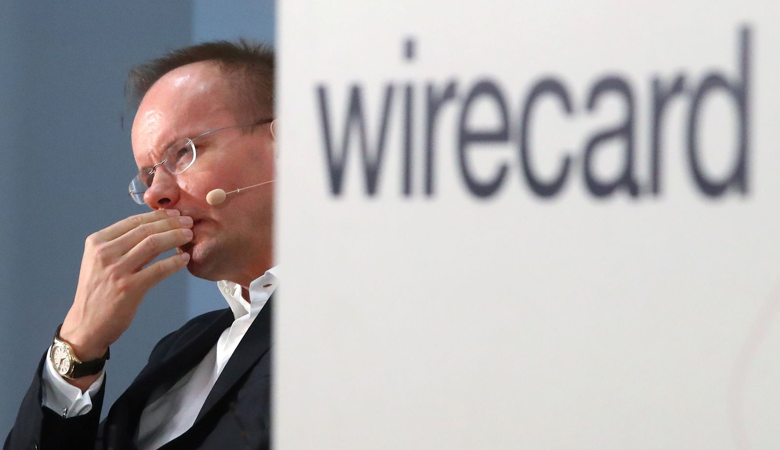 FILE PHOTO: Braun of Wirecard AG attends the company's annual news conference in Aschheim