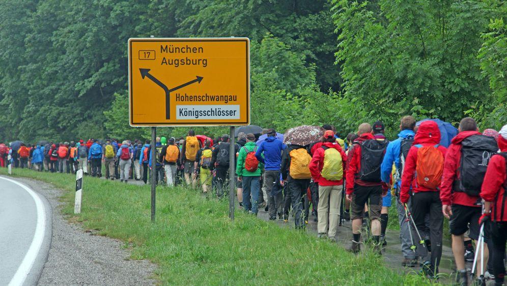Extremwandern in Bayern: 24 Stunden mit Fußschmerzen