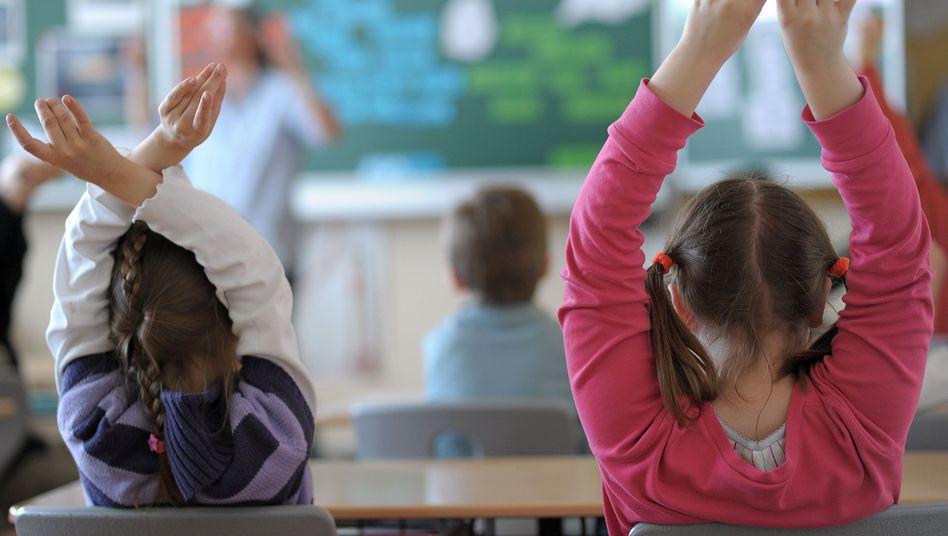 Klassenzimmer einer Grundschule: 97 Prozent fordern eine Lehrmittelfreiheit