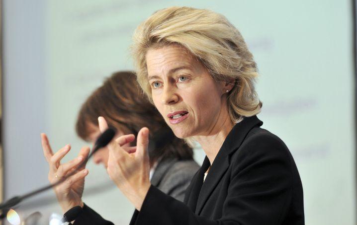 Bundesfamilienministerin Ursula von der Leyen: Kampf gegen Kinderpornos ist seit Jahresbeginn ihr großes Thema