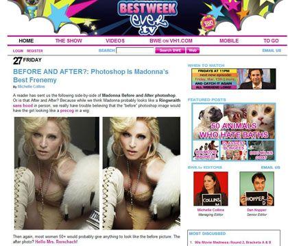 Fotobearbeiter: Bestweekever.tv zeigt, wie Schönheits-OPs mit Photoshop ablaufen