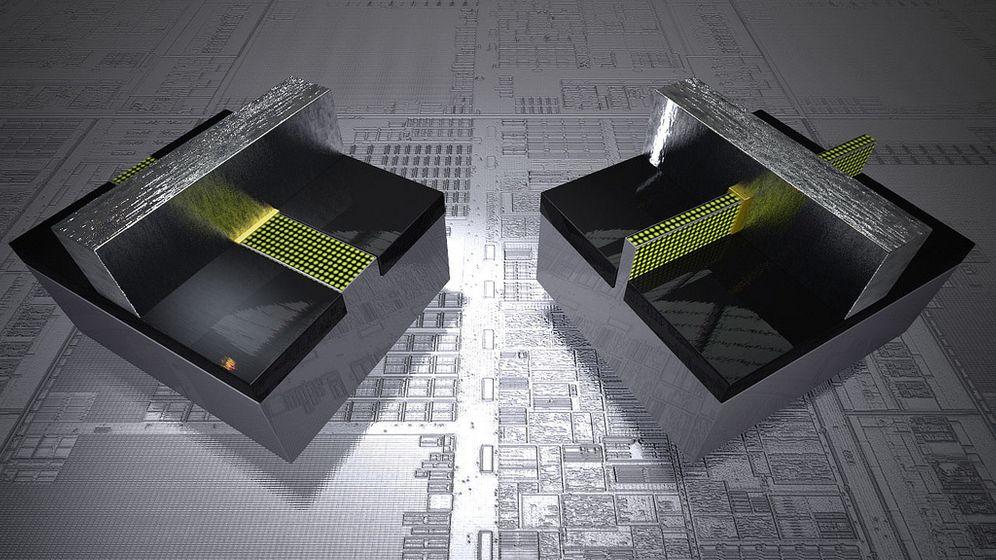 Neue Chip-Technik: Schneller rechnen in 3D
