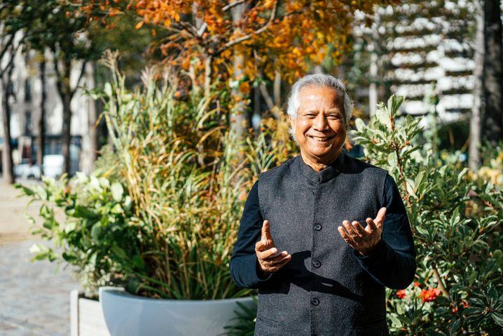 Erfinder der Mikrokredite und Nobelpreisträger Muhammad Yunus