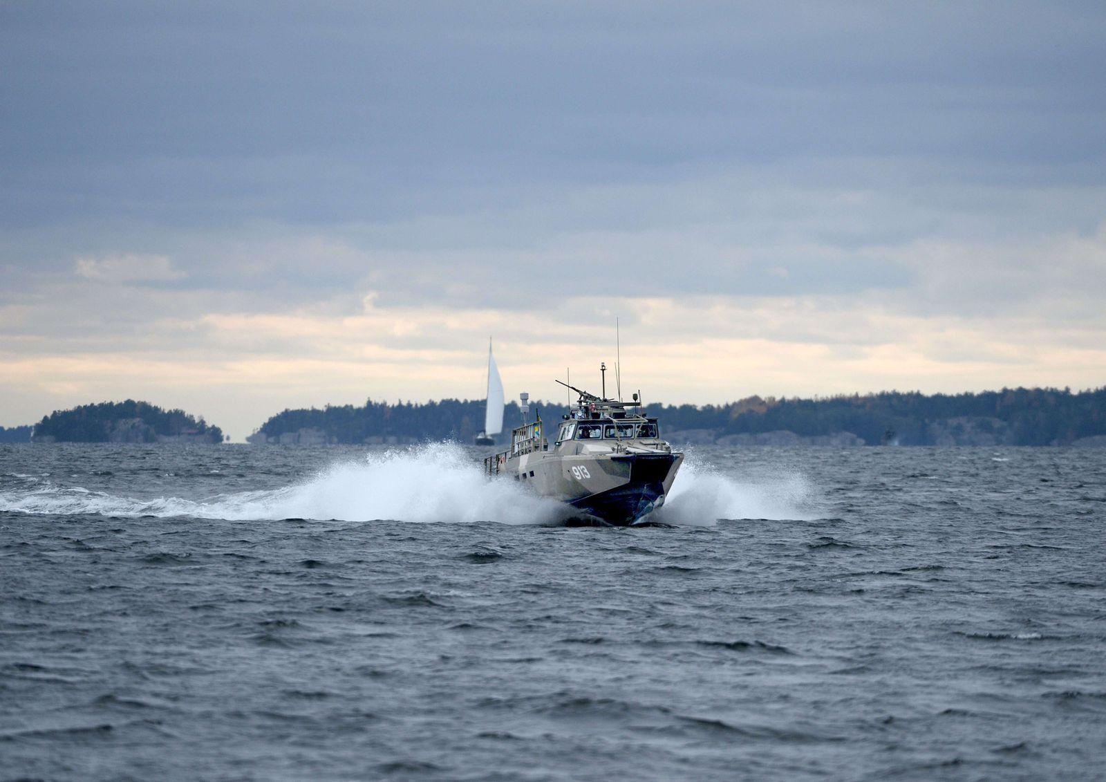 U-Boot/ Stockholm/ SWEDEN-MILITARY-SUBMARINE-RUSSIA