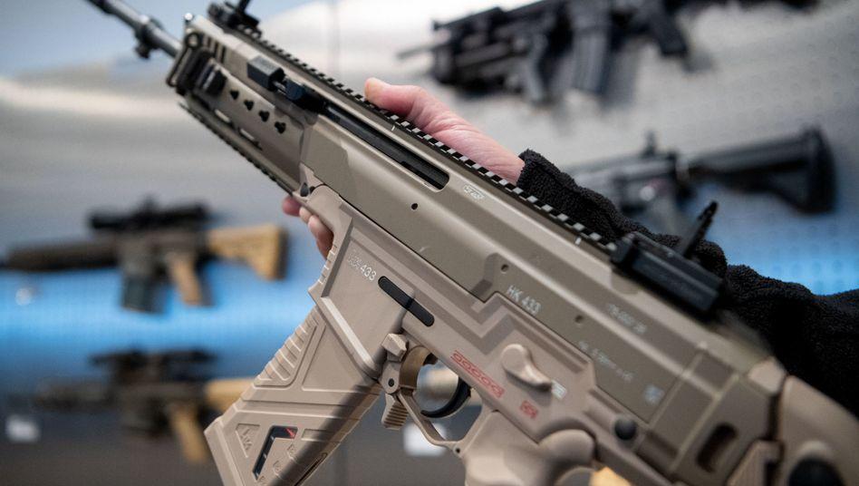 Sturmgewehr des Waffenherstellers Heckler & Koch