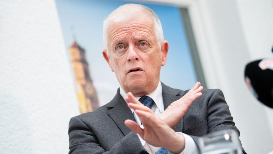 """Fritz Kuhn: """"Auf den Bundesparteitagen sind wir Grüne aus Baden-Württemberg jahrelang verprügelt worden"""""""