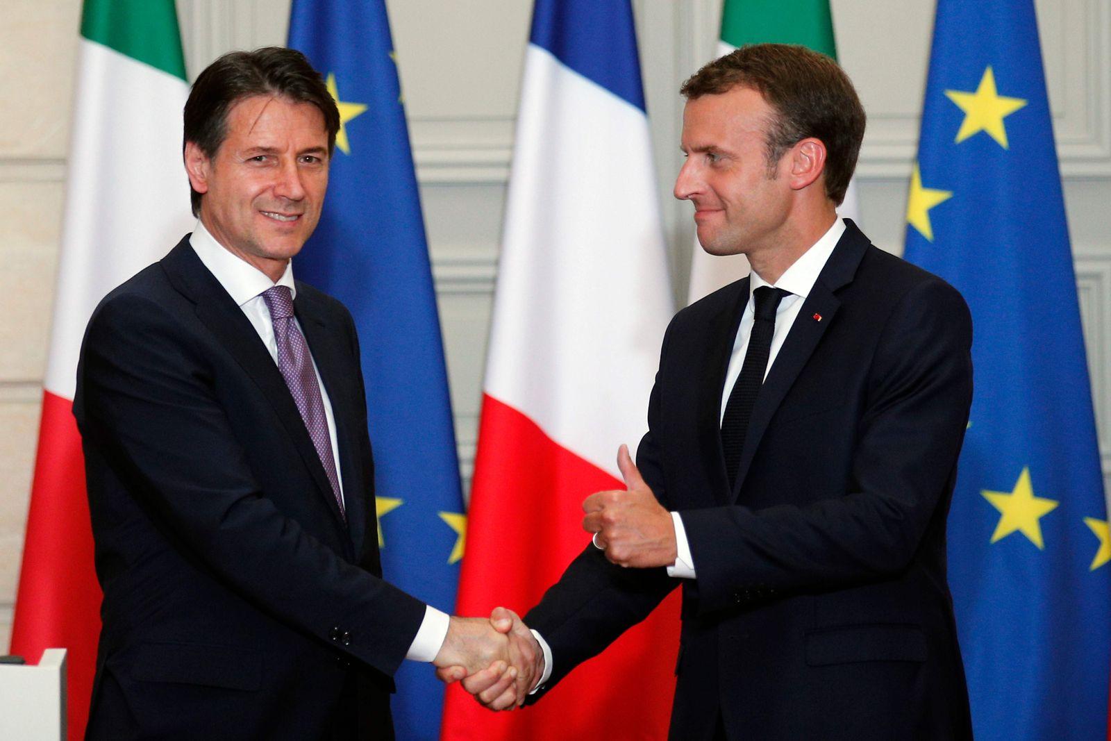 TOPSHOT-FRANCE-ITLAY-DIPLOMACY