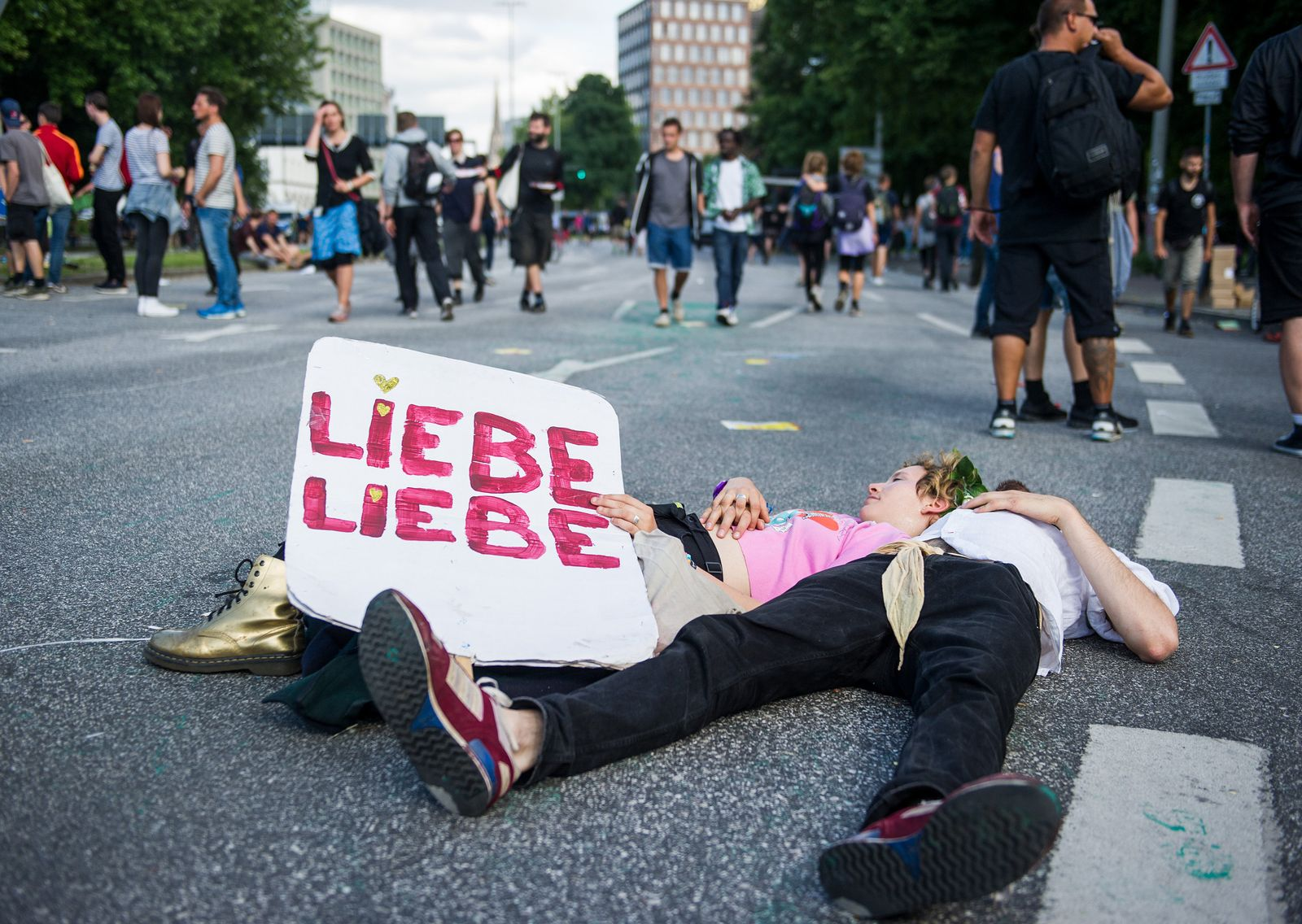 G20-Gipfel - Internationale Demonstration gegen den G20-Gipfel