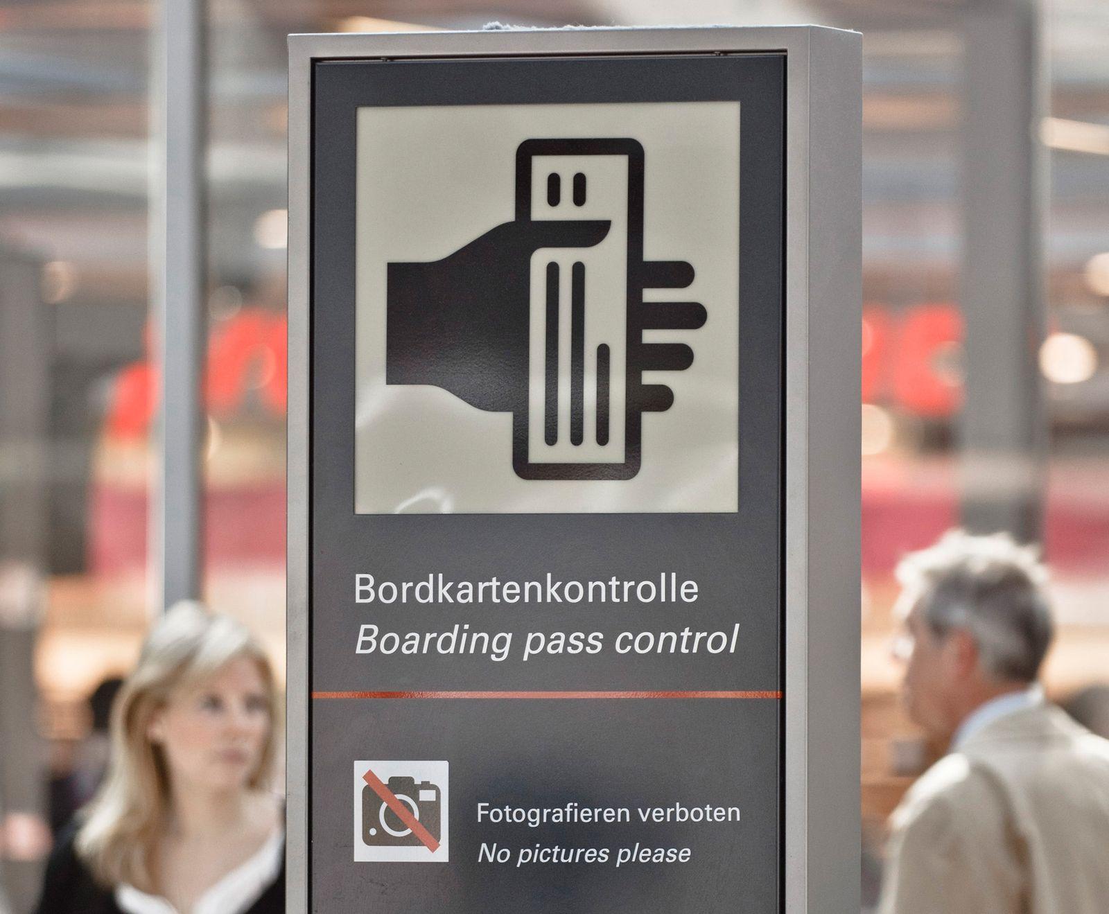 EINMALIGE VERWENDUNG Gruppenboarding / Air Berlin