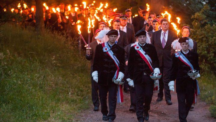 Burschentag in Eisenach: Rassismusvorwurf gegen stramm rechte Akademiker