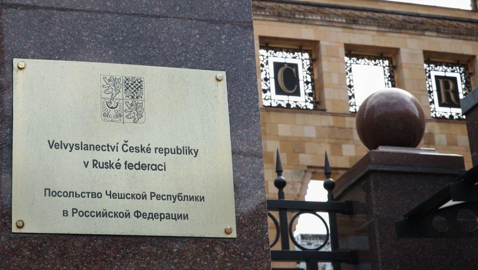 Tschechische Botschaft in Moskau: Mit der deutschen Botschaft »in direktem Kontakt«