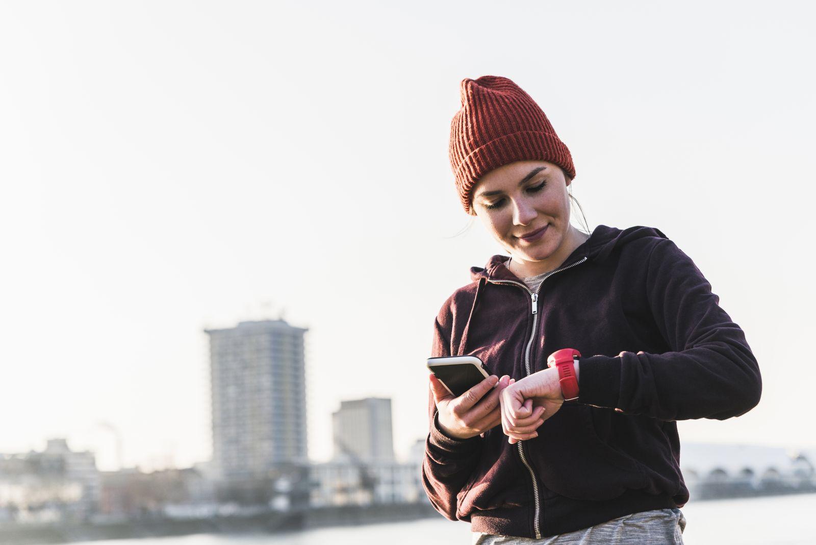 EINMALIGE VERWENDUNG App / Gesundheit