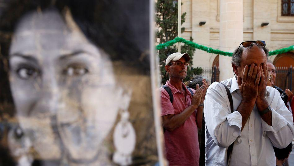 Peter Caruana Galizia, Witwer der ermordeten Journalistin (im Juli auf Malta): Naht echte Aufklärung?