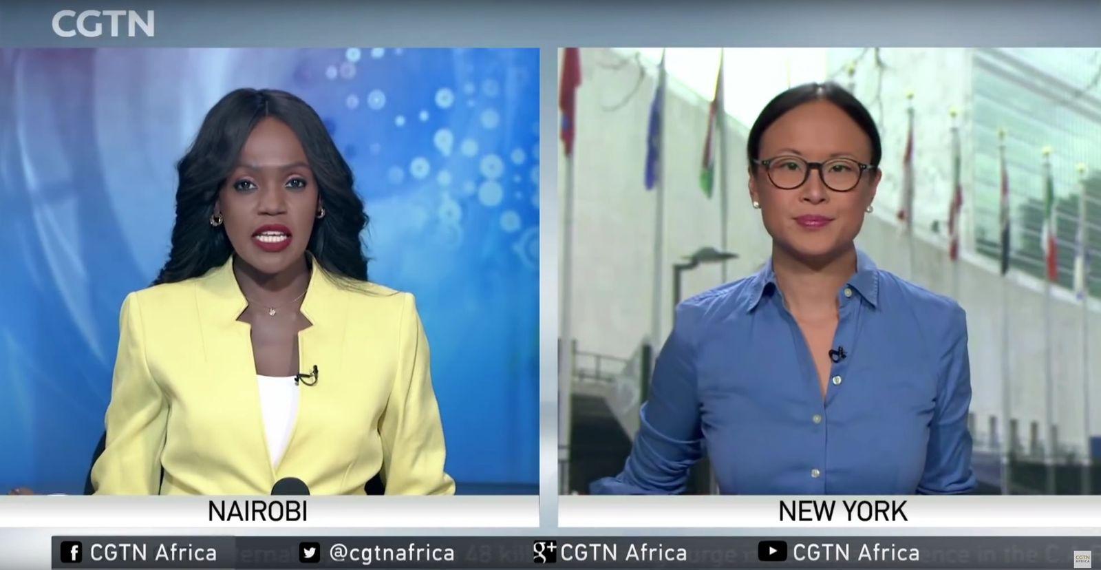 EINMALIGE VERWENDUNG SPIEGEL Plus 24/2019 S. 90 - China in Afrika