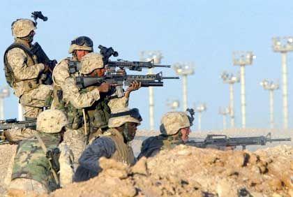 Gefecht im Irak: Traumatische Beinahetreffer