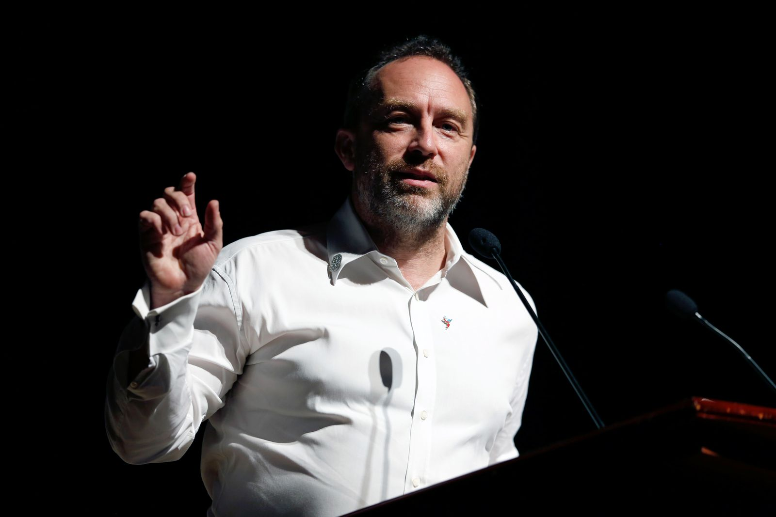 Jimmy Wales/ Wikipedia