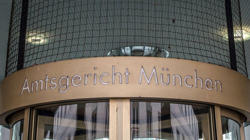 Amtsgericht München (Symbolbild): Seniorin in erbärmlichem Zustand gewesen