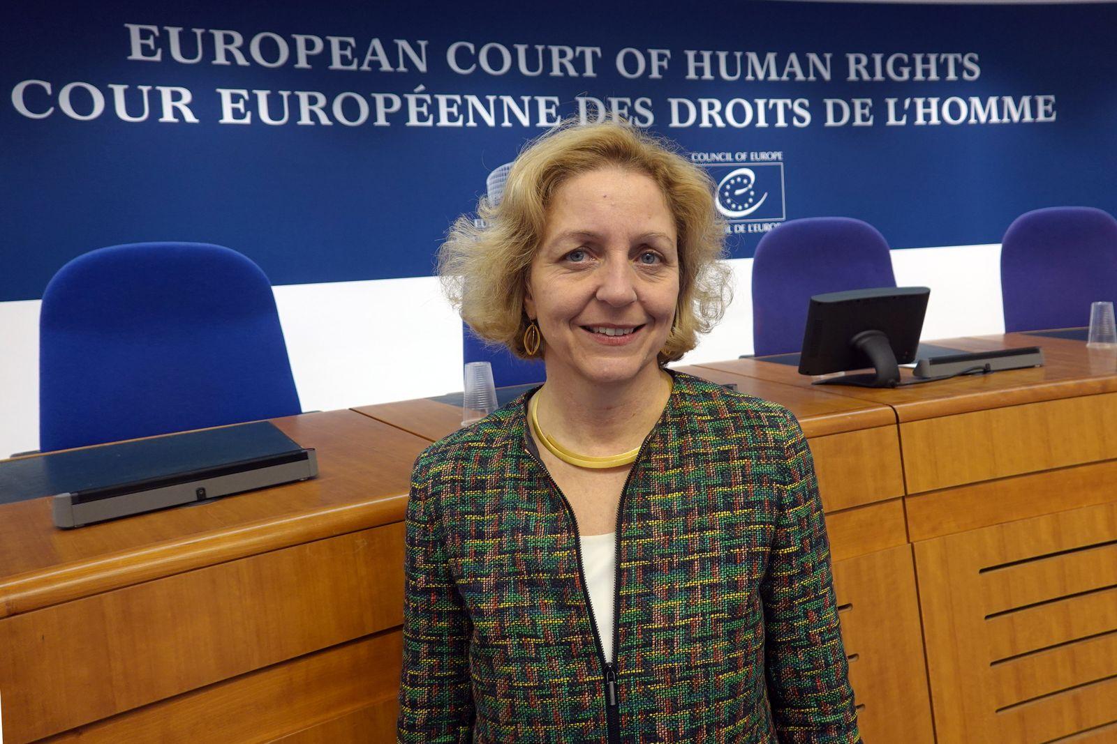 Angelika Nußberger - scheidende Richterin am EGMR