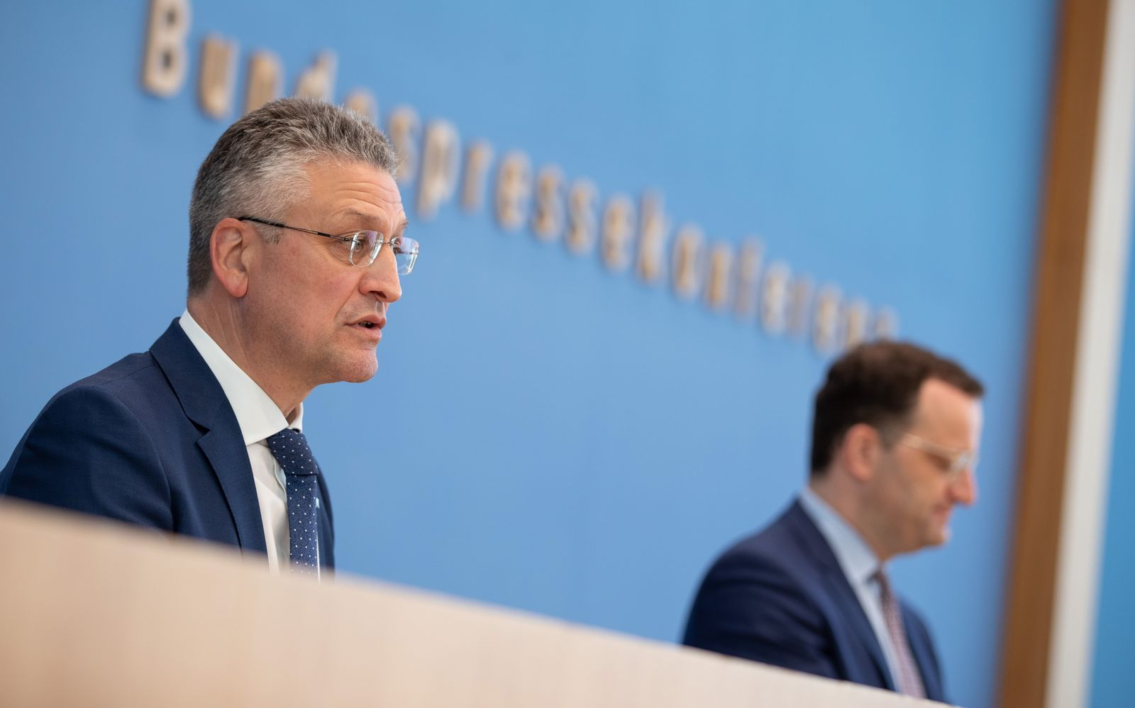 German Federal Government press conference on the coronavirus pandemic situation