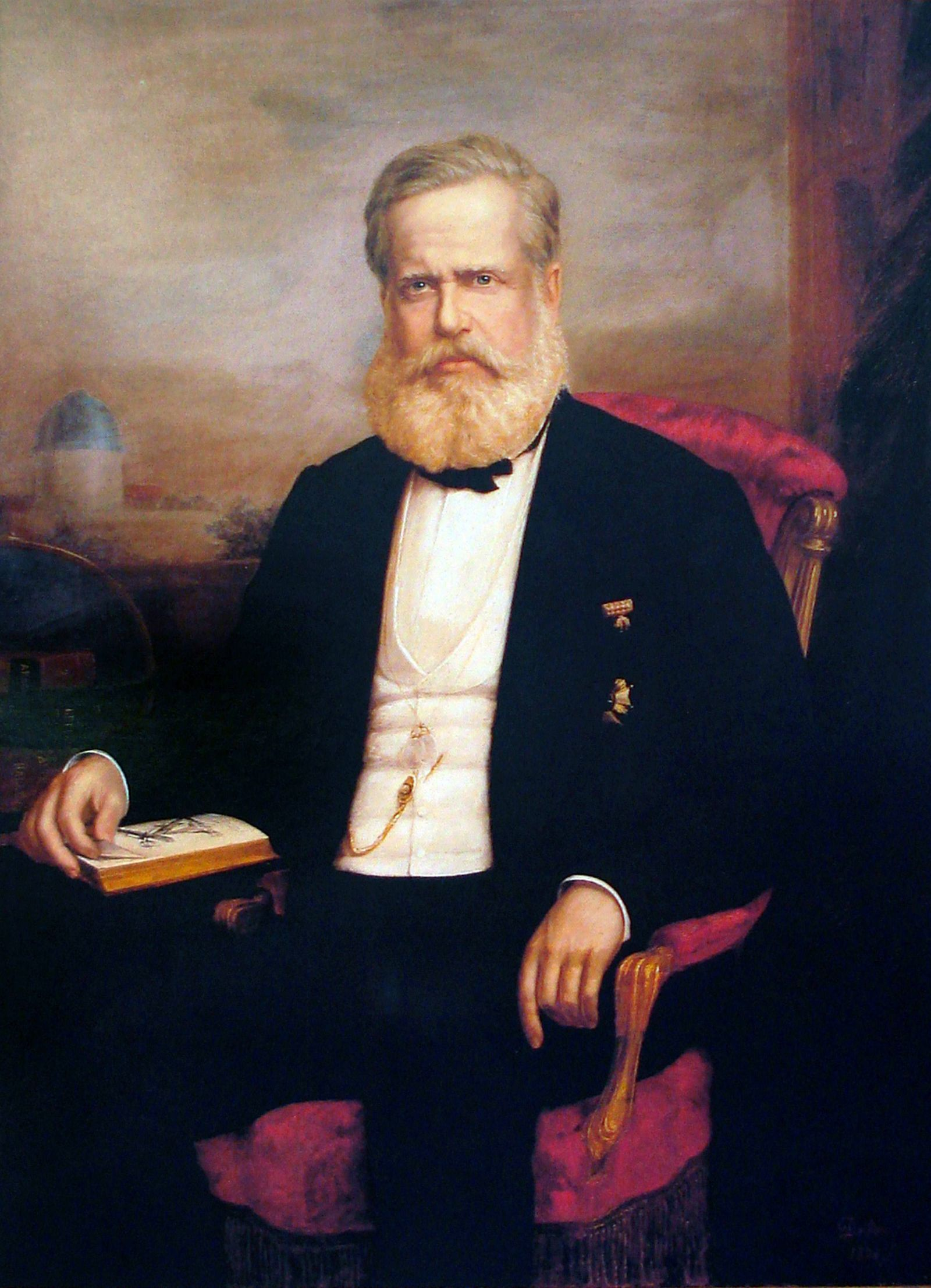 Pedro II of Brazil Dom Pedro II 1825 – 5 December 1891 the Magnanimous was the second and last