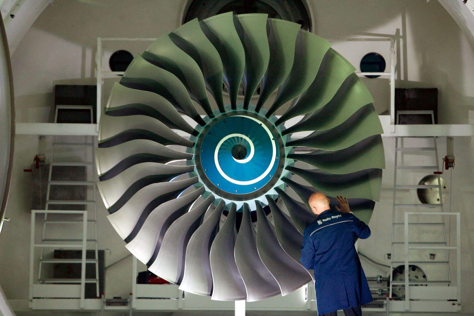 NICHT VERWENDEN Ingenieur Fachkräftemangel Ingenieure Turbine