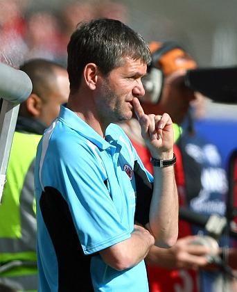 """Eintracht-Trainer Funkel: """"Die Hoffnung stirbt zuletzt"""""""