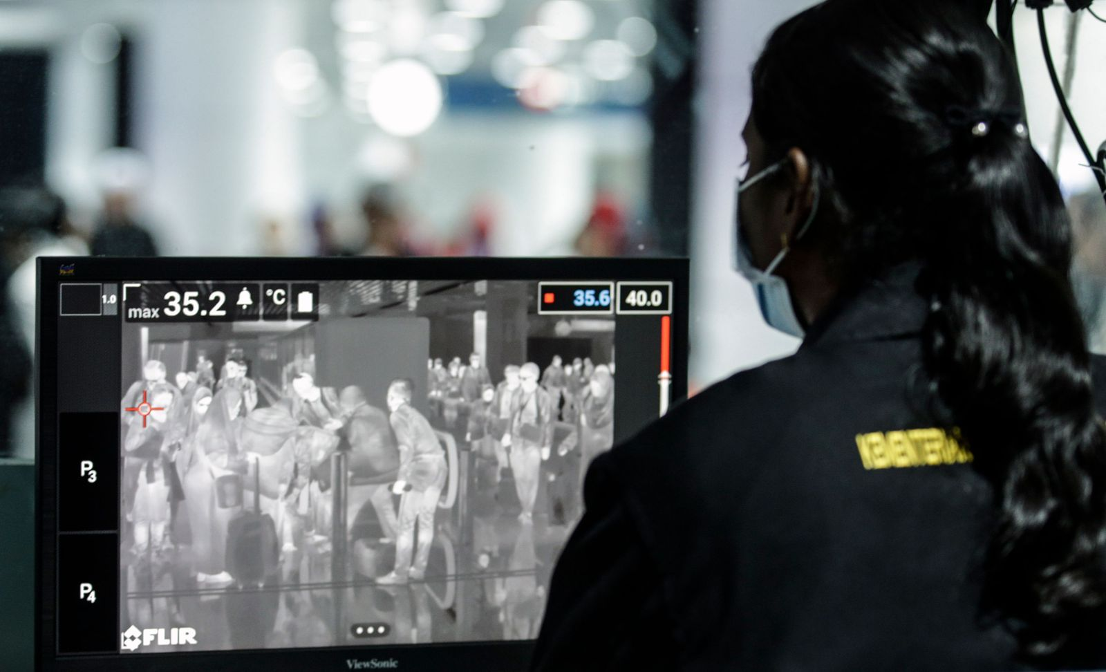 Airports boost thermal screening as coronavirus death toll rises, Sepang, Malaysia - 21 Jan 2020