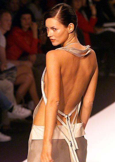 Muss das Krankenbett hüten: Kate Moss
