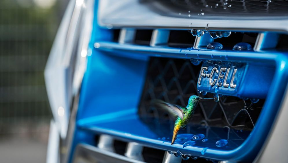 Mercedes GLC F-Cell: Antrieb mit zwei B