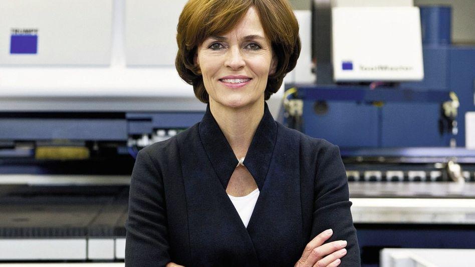 Nicola Leibinger-Kammüller, Trumpf-Chefin und u. a. Siemens-Aufsichtsrätin
