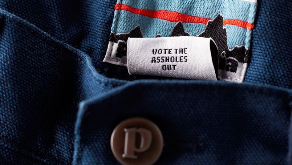 """Politische Botschaft am Etikett: """"Wir haben sie sogar schon mal auf T-Shirts gedruckt"""""""