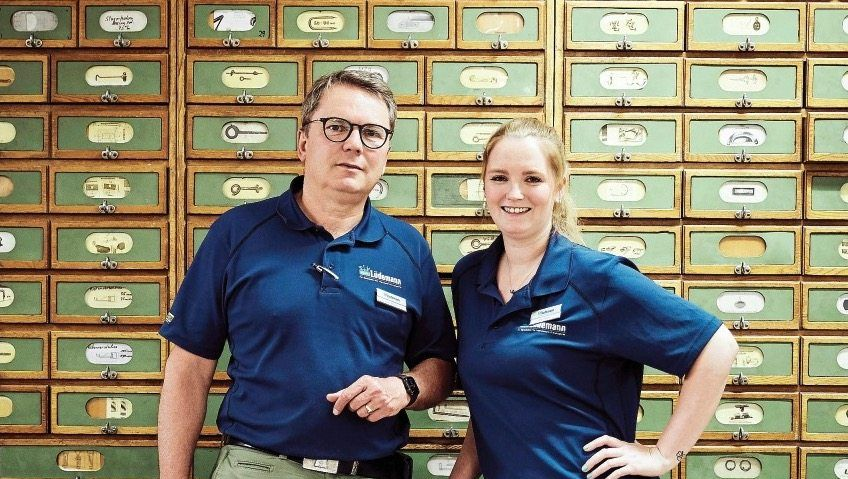 Jochen Peters und Charlotte Peters