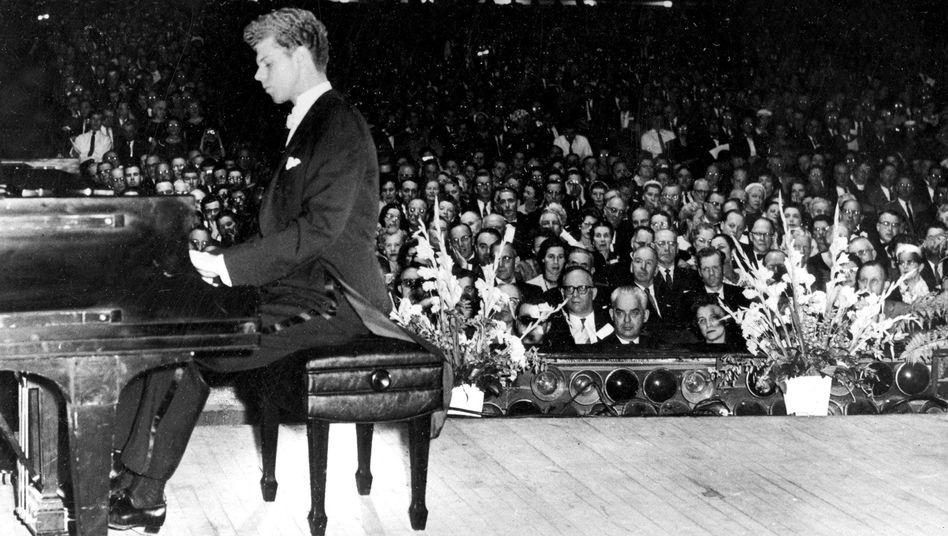 Van Cliburn in den 50er Jahren: Ein Amerikaner in Moskau