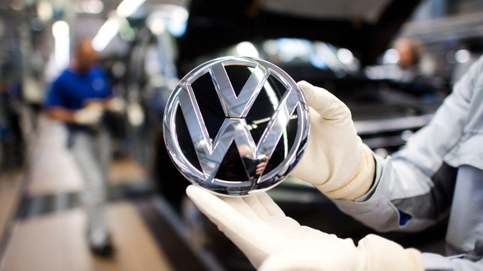 Das VW-Logo von Volkswagen