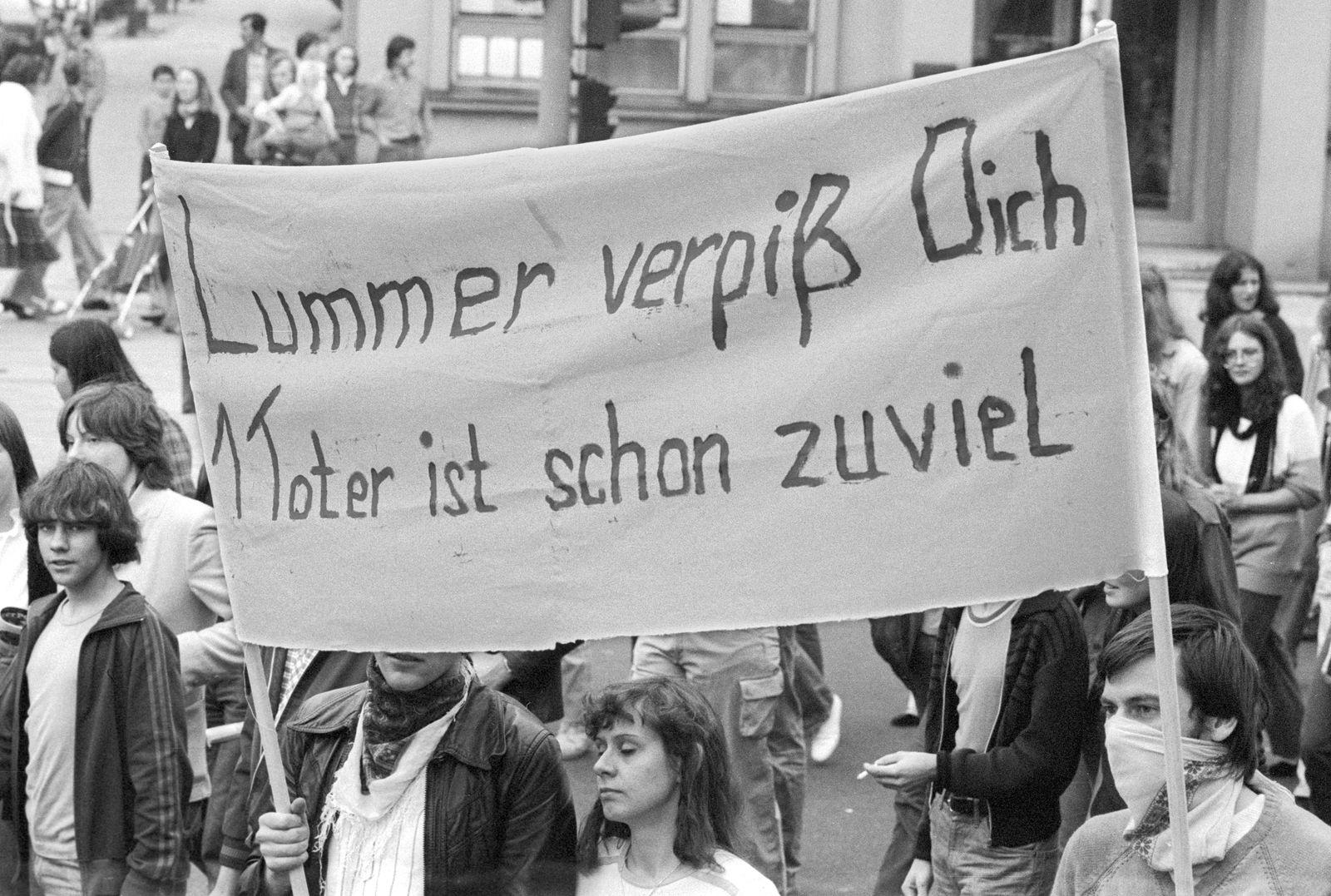 Berlin (West) - Rattay-Demo 1981