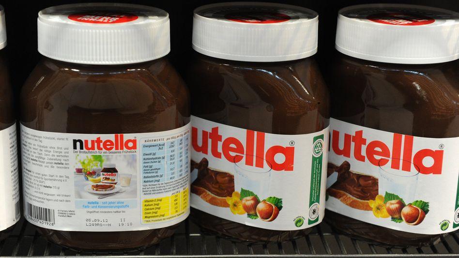 Nutella-Gläser (Archiv-Foto)