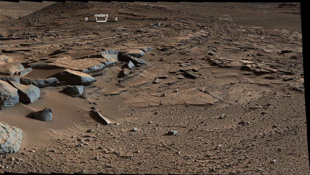 Roter Planet: Hinweise auf flüssiges Wasser auf dem Mars