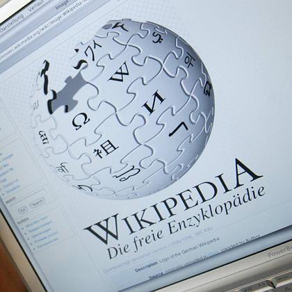 Wikipedia (Deutsche Seite): Scorpions-Artikel in England blockiert