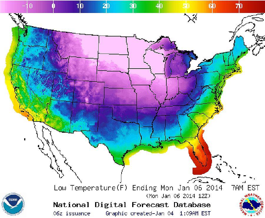 EINMALIGE VERWENDUNG Wetter/ USA